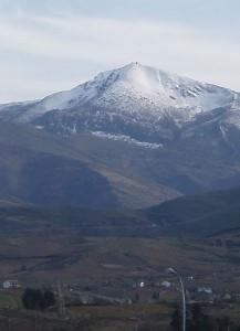 Aquiana snow-covered. Montes Aquilianos (El Bierzo)