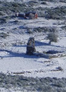 Ancient pilgrim's hospital ruins (Foncebadón)