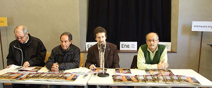 Antolín de Cela, Miguel Ángel, Roger De La Cruz y Rafael Canseco.
